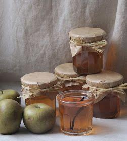 La cuisine d'ici et d'ISCA: Gelée de pommes