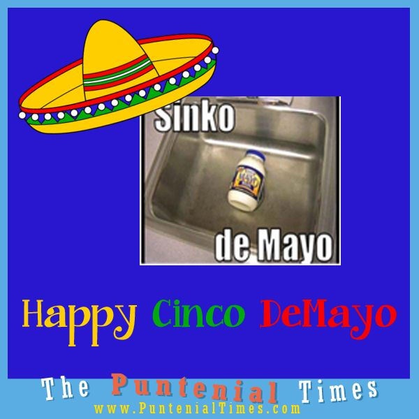 Happy Cinco De Mayo meme #meme #puns
