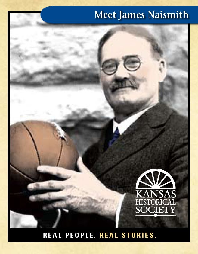 James Naismith. The inventor of basketball and the first basketball coach at the University 0f Kansas. Rock Chalk Jayhawk!!!!!!