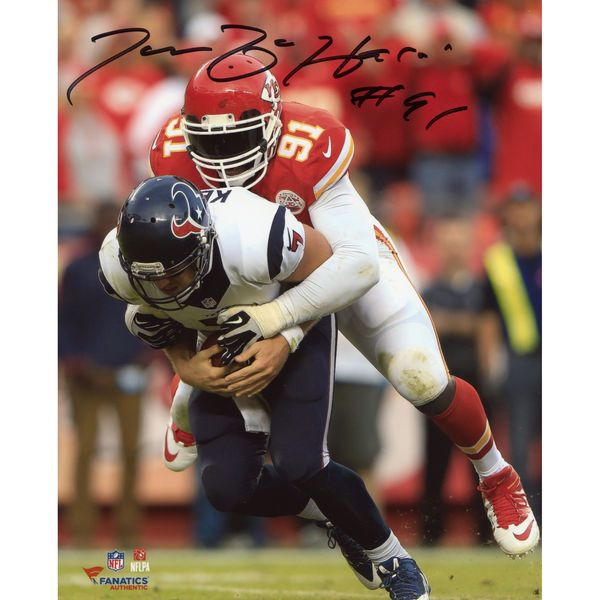 "Tamba Hali Kansas City Chiefs Fanatics Authentic Autographed 8"" x 10"" vs. Houston Texans Photograph - $69.99"