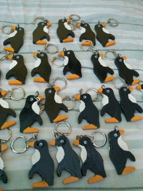 Llavero pinguino