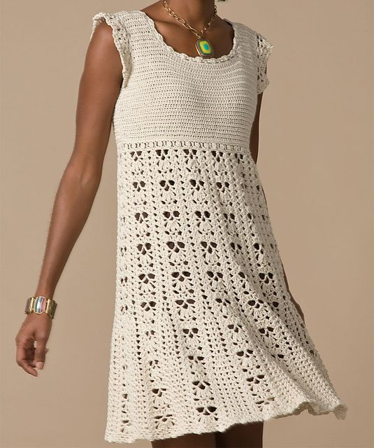 Crochet Dress: free pattern