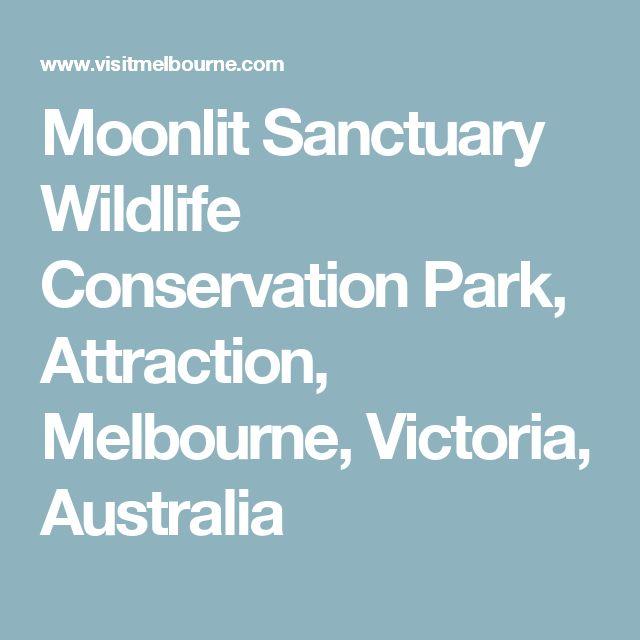 Moonlit Sanctuary Wildlife Conservation Park, Attraction, Melbourne, Victoria, Australia