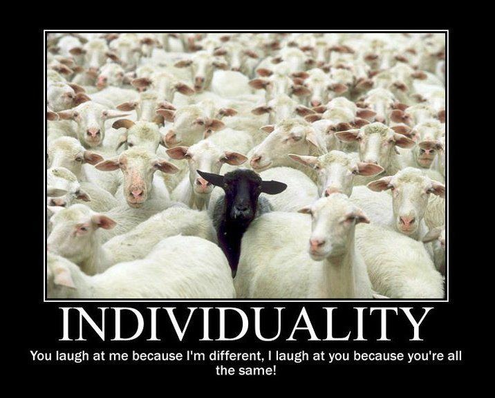 genuine non-conformist :-)
