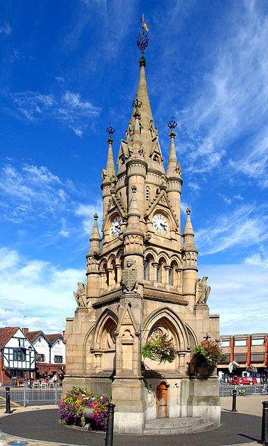 La Torre del Reloj, Stratford upon Avon, Inglaterra.