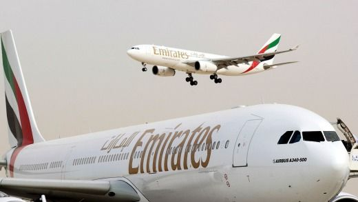 Emirates' fleet is at the young end of the spectrum with an average age of 5.4 years.