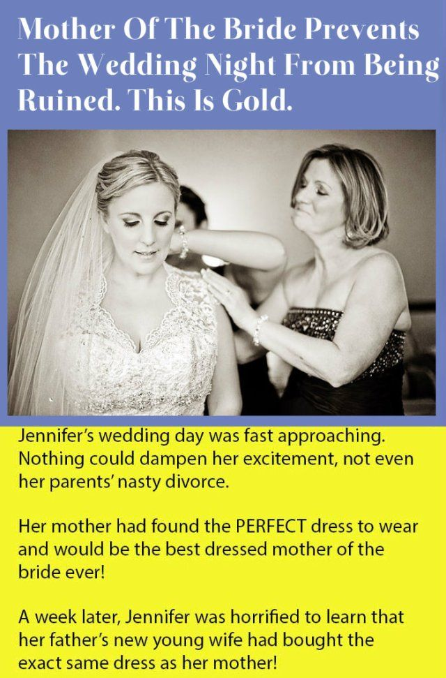 Mother Of The Bride Prevents The Wedding Night From Being Ruined This Is Gold Damn Funny