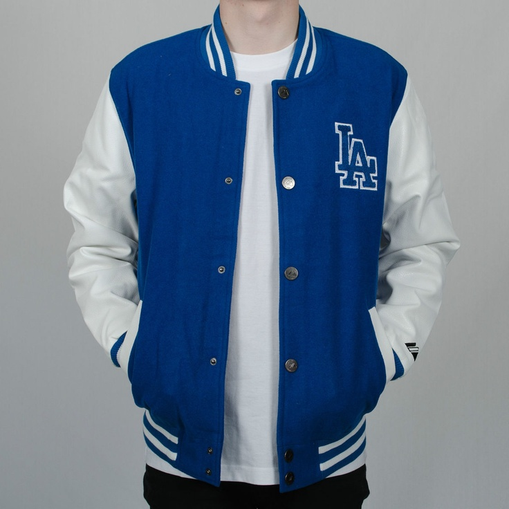 Dodgers leather jacket