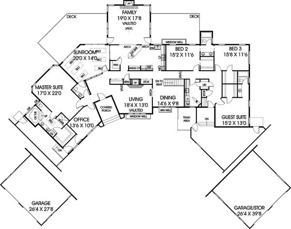 11 best mobile home images on pinterest mobile home, bait and Buccaneer Manufactured Homes Floor Plans ranch house plan chp 19401 at coolhouseplans com perfection! buccaneer manufactured homes floor plans