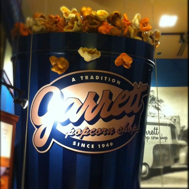 I'm not a huge popcorn guy, but this is a nice change of pace. VERY popular Garrett's popcorn.