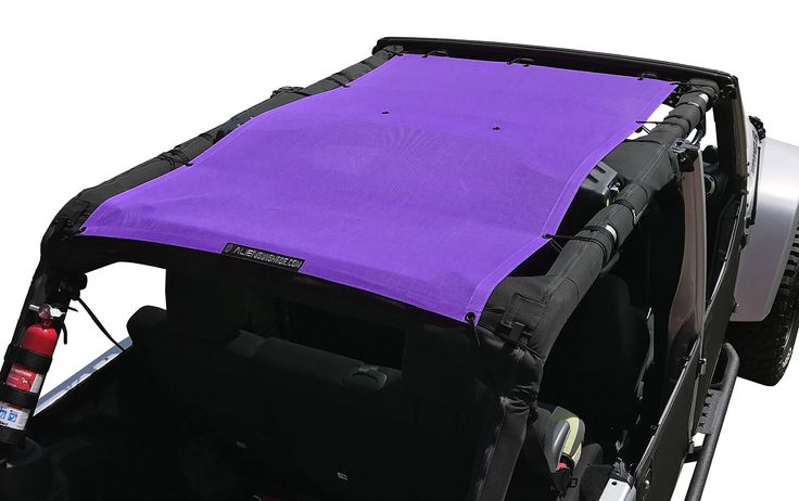 Alien Sunshade Jeep Wrangler JKU4FB Shade Provides UV Protection for Your 4-Door JKU (2007-2017)