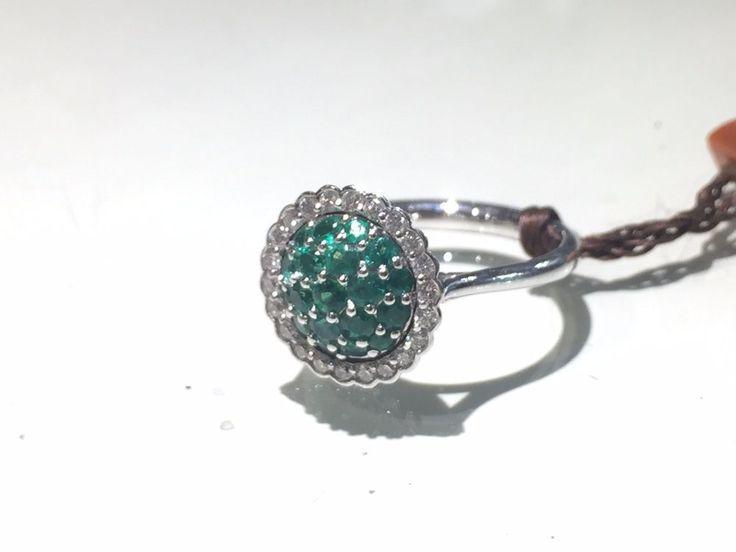 Visconti Preziosi Anello con Smeraldi e Diamanti Ring with Emeralds and Diamonds