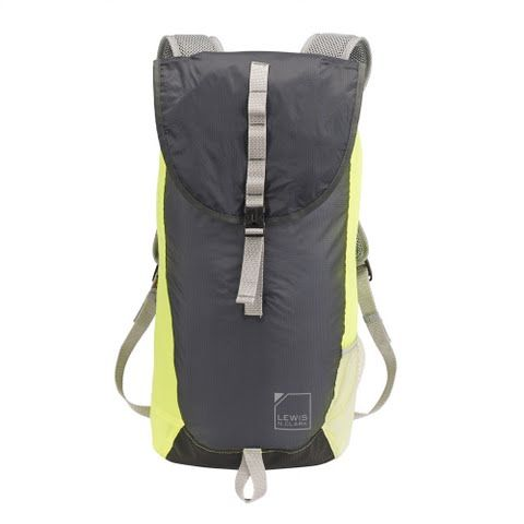 Lewis N . Clark Electrolight Day Pack - Charcoal / Neonlemon: The ElectroLight day pack from Lewis N. Clark… #OutdoorGear #Camping #Hiking