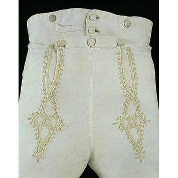 Trousers    Place of origin:  Britain, United Kingdom (made)    Date:  1810-1820 (made)