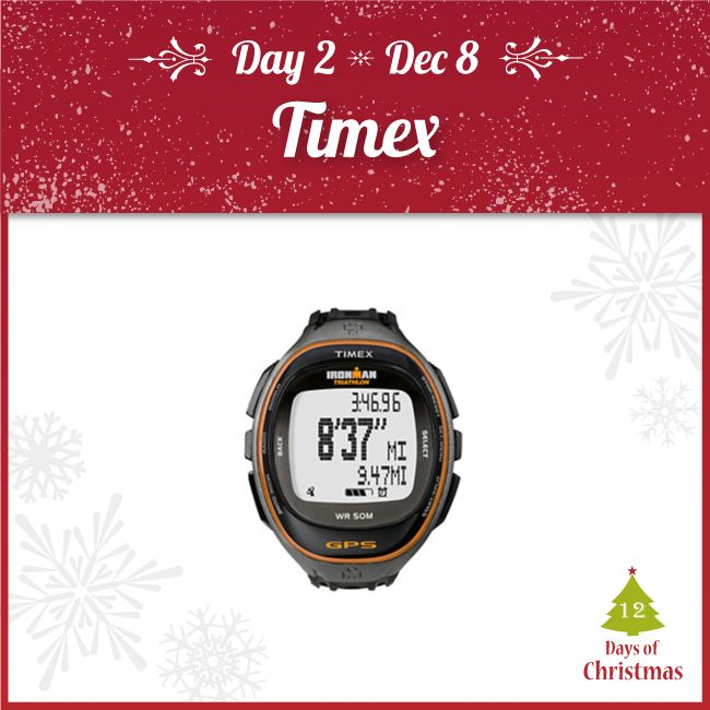 Looking for a new watch to help with your training?  Heart rate, pace, time and GPS info will be at your fingertips with these Timex watches - TODAY ONLY at 30% OFF!  Visit any Kintec location or our webstore here! http://kint.ec/Day2Timex  USE CODE: XMAS2