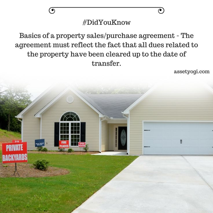 54 best Did You Know and Real Estate Facts images on Pinterest - property purchase agreement