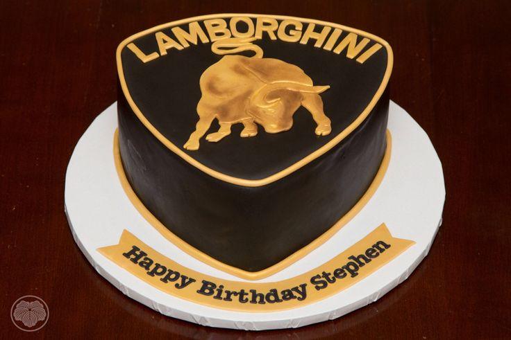 Lamborghini Logo Cake Custom Cakes Pinterest Logos