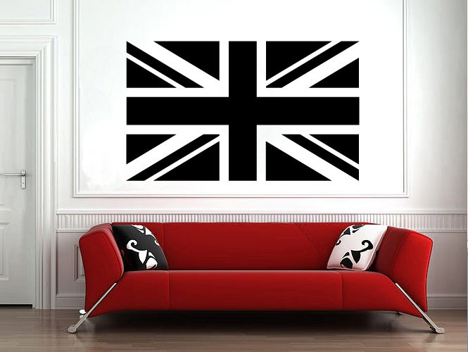 Great British Flag Wall Decal