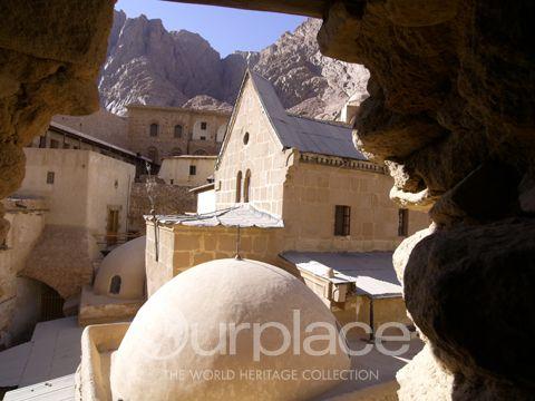 Monastery of St. Catherine. Sinai Peninsula.