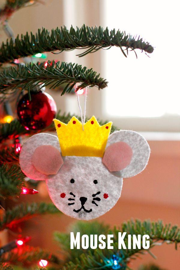 DIY Felt Nutcracker Ornaments 83 best Holiday