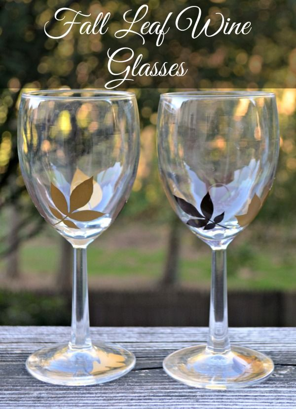 Unique Fall Wine Glasses Ideas On Pinterest Painting On Wine - Vinyl decals for drinking glasses