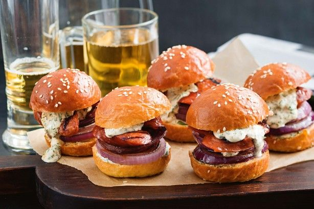 Mini sliders make any soiree a swanky affair. Dazzle them with this…