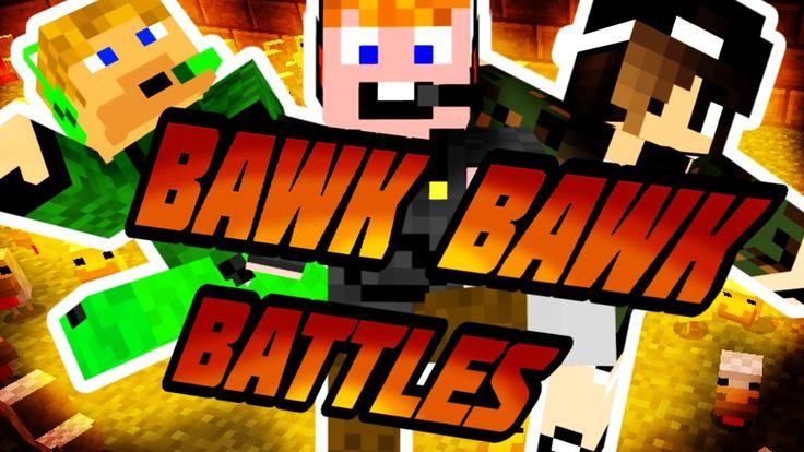 Minecraft - Bawk Bawk Battles [FURCSA KIS JÁTÉK EZ!]