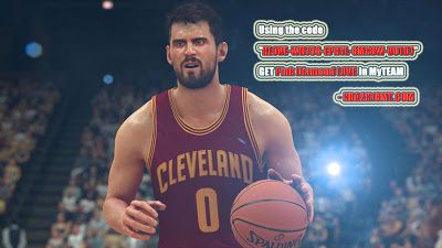"""NBA 2K18 News & NBA 2K18 MT Making Guides: Using the code """"KLOVE-WB75G-EPHYL-8MX8W-VUTD7"""" to get LOVE For NBA 2K17"""