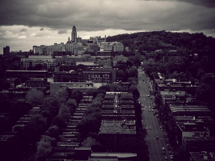 My dark take on University of Montreal.