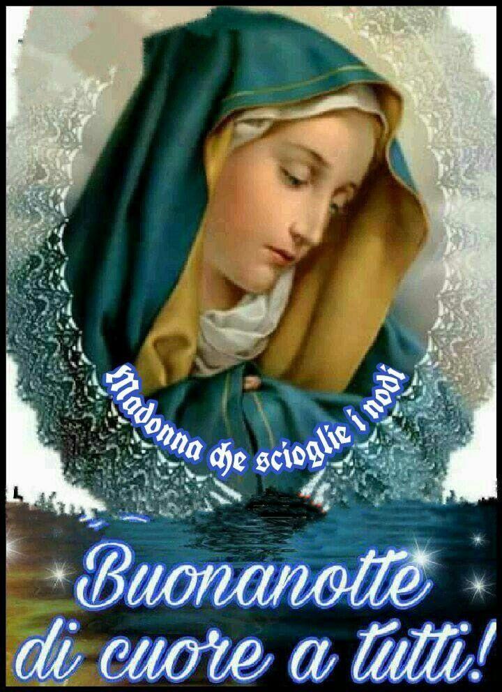 Immagini Buonanotte Con Gesù E Maria