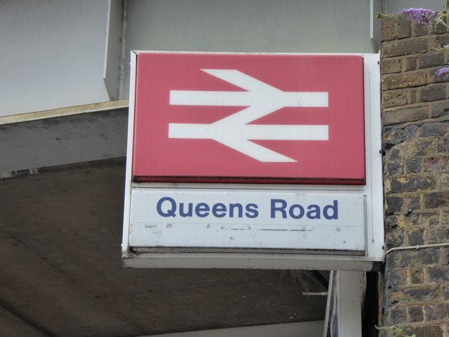 Queens Road (Peckham) London Overground Station in Peckham, Greater London
