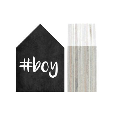 """Houten Huisje """"#boy"""" - Dots Lifestyle"""