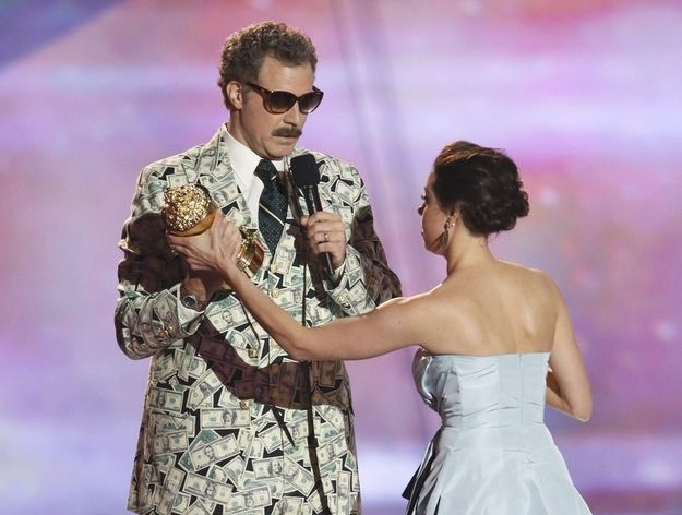 Proof that Will Ferrell has more composure and comedy in his little toe than most people.