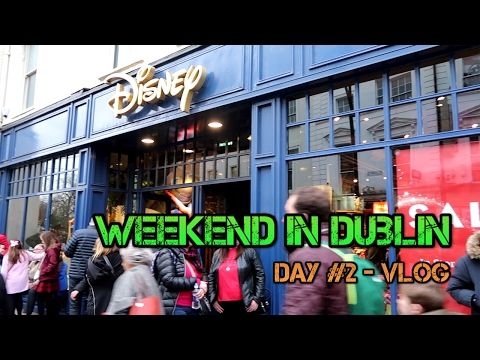 Weekend in Dublin |  Day #2 | DISNEY STORE | Vlog | Bloopers | The Portuguese in Ireland  https://youtu.be/aJ_Dibm-7es  Hi Guys, please check the second day of adventures of me and two friends (A Chinese and a Venezuelan) in Dublin.  #Dublin  #DisneyStrore #Disney #Ireland #Cork #Nandos #Vlog #Trip #Travel #Friends  #Fun #Portuguese  #Venezuelan #Chinese #Craic #youtube  #youtuber #smallyoutuber