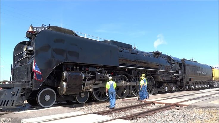 Union Pacific 844 Departs Cheyenne, WY July 2018 YouTube