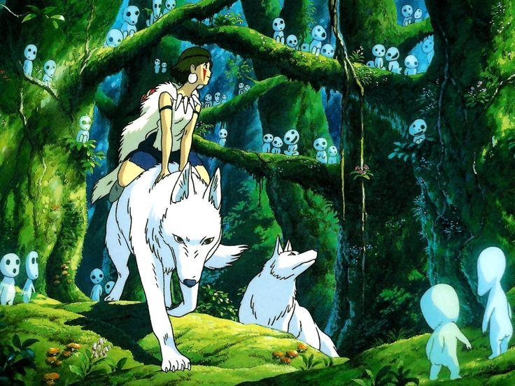 Princess Mononoke (1997) MOVIES Ghibli, Principessa