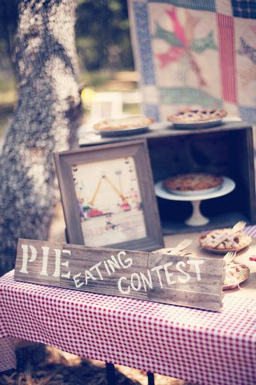 Vintage County Fair Birthday Party Ideas Photo 3