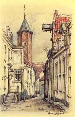 Muurhuizen, Amersfoort : een van mijn favoriete straten