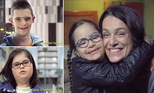 Outcry after French court rules that pro-life commercial showing happy children with Down syndrome was 'inappropriate' and 'likely to disturb women' who had abortions - Because they'll realize they've committed murder? Let's not offend them then.