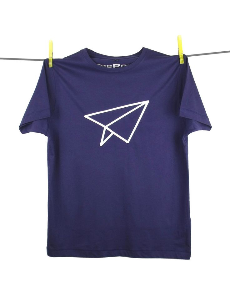 """Paper Aeroplane"" T-shirt by Tee Pony"
