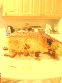 This is the original cous cous cake. It's lovely and you could eat the whole thing!!