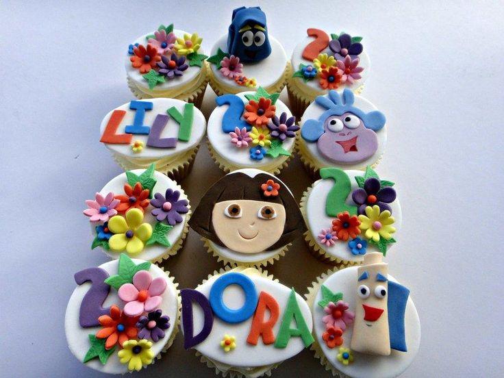 Best Dora Cakes Images On Pinterest Dora Cake Dora Birthday - Dora birthday cake toppers