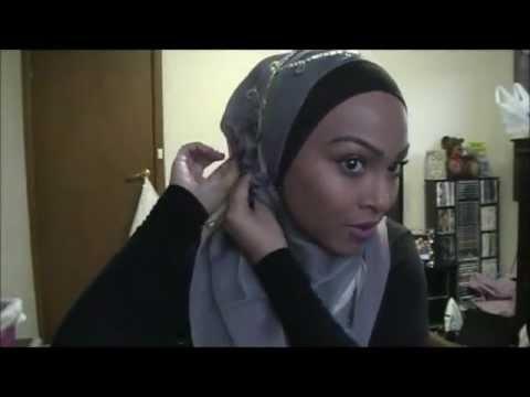Eid hijab tutorial