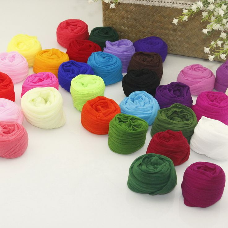 CCINEE Artificial Flower Nylon Stocking 30 Mix Colors Can Tensile To 2.5m Long  Used For Nylon Stocking Flower Accessories