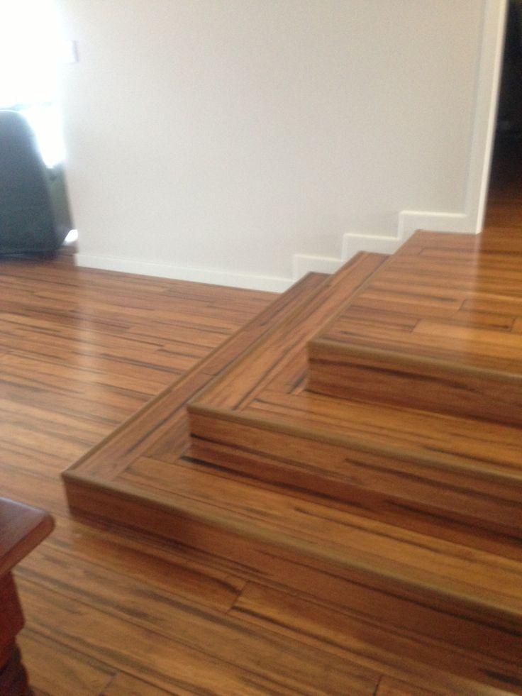 Naturally Bamboo flooring - Antique (Staircase)
