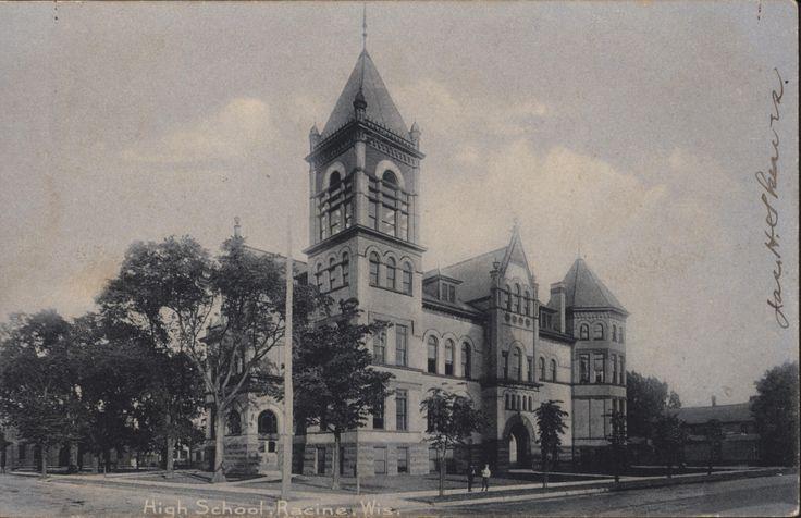 racine wisconsin history | Racine High School