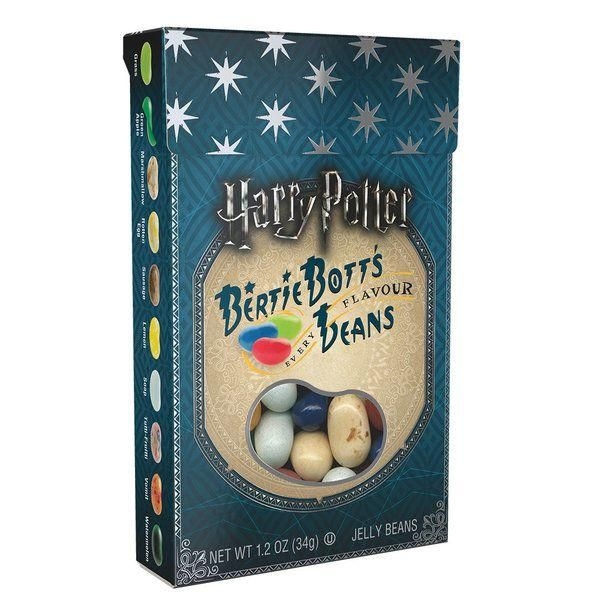 Harry Potter Bertie Bott's Every Flavor Beans 1.2 oz Box (4 pack)