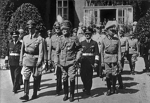 1941, Pays-Bas, les funérailles de l'ancien Kaiser Guillaume II