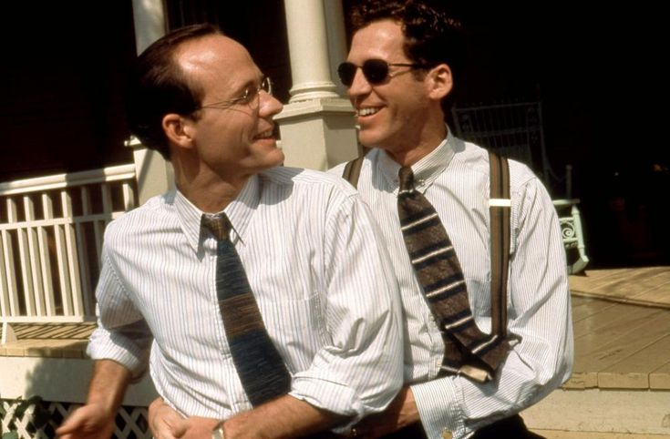 John Benjamin Hickey, Stephen Spinella, 1997 | Essential Gay Themed Films To Watch, Love! Valour! Compassion! http://gay-themed-films.com/watch-love-valour-compassion/