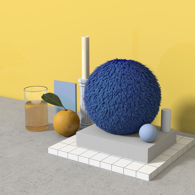 3D ILLUSTRATIONS Collection of work - Anny Wang